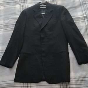 Armani 3-button Black Wool Blazer